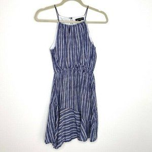 Sequin Hearts XL Navy White Strappy Dress NWT BS83